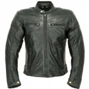 Oxford Buddy 2.0 Leather Jacket Black